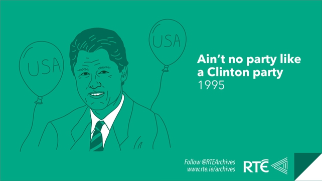 US Presidents in Ireland - Bill Clinton