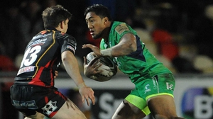 Bundee Aki will be eligible to play for Ireland from next October