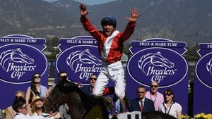 Frankie Dettori has been sidelined with a shoulder injury