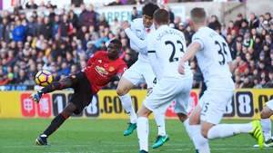 Paul Pogba opened the scoring for Man United