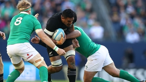 Jerome Kaino stared in the second row