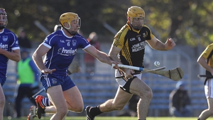 Gary Brennan tussles with Padraic Maher of Thurles Sarsfields