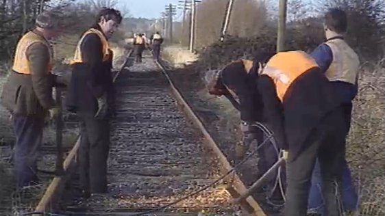 Rail Track Removal