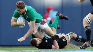 Wing Andrew Trimble looks set to return for Ireland against France