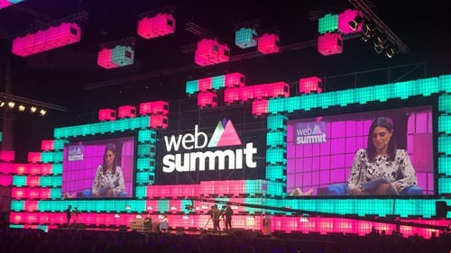 Web Summit has attracted senior figures in technology