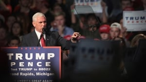 U.S Vice-president elect Mike Pence