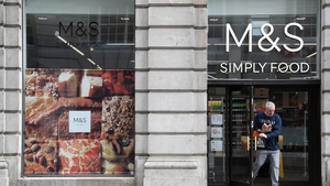 Marks & Spencer said its half year food like-for-like sales were down 2.9%