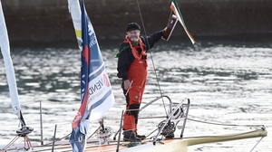 Irish sailor Enda O'Coineen
