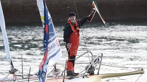 Enda O'Coineen has solo sailed around the world