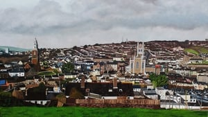 A detail from PURE CORK LIKE by Corkman Keith Anderson, the winner of Painting The Nation's Big Picture competition.