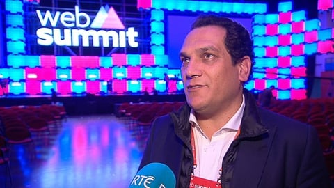 Web Summit: Portugese Secretary of State of Industry