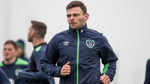 Andy Boyle was called up to the Ireland squad for the World Cup qualifier against Austria last month