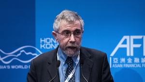 Economist Paul Krugman attended the Kilkenomics Festival of economics