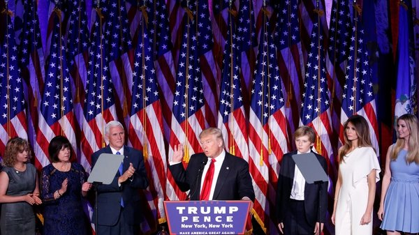 Donald Trump is President-elect of the United States