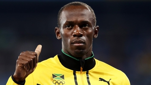 Usain Bolt has ambitions to be a professional footballer