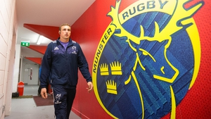 Tommy O'Donnell starts for Munster against Racing 92