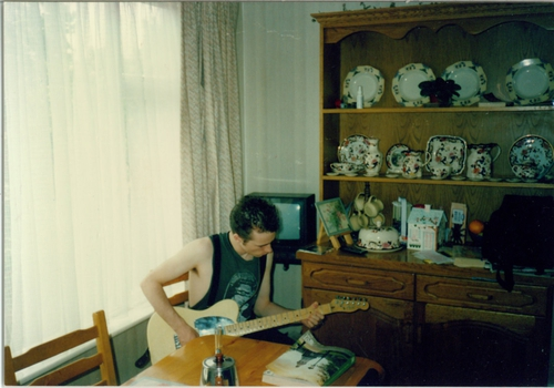 Jeff at Michaels home where he stayed during his first ever visit to Ireland  - By Michael Murphy