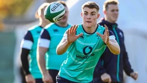 Garry Ringrose will get his first cap on Saturday