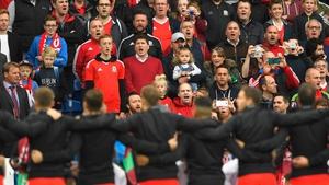 Wales play Serbia at Cardiff City Stadium at 7.45pm on Saturday