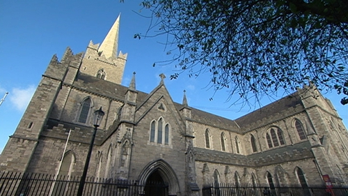 St Patrick's Church of Ireland Cathedral in Dublin