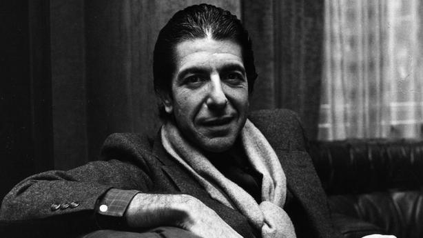 Leonard Cohen pictured in 1979