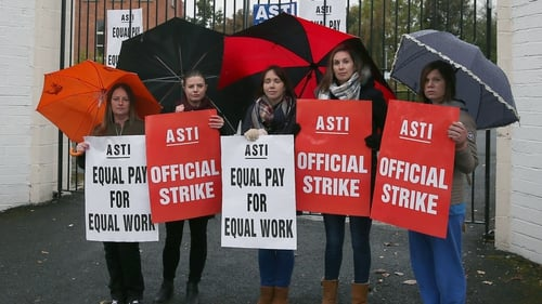 Industrial action was suspended last November to allow talks to take place