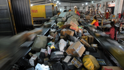 331 million packages from Singles' Day as resulted in 160,000 tonnes of packaging waste