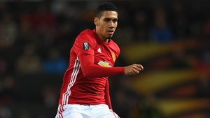 Chris Smalling was reported to have two broken bones in a toe