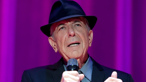 Singer and songwriter Leonard Cohen dies aged 82