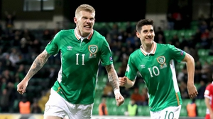 James McClean had been struggling with a back injury