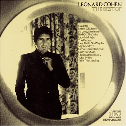 Remembering Leonard Cohen, RIP