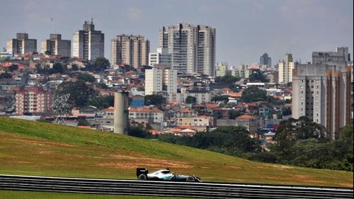 Rosberg keeps focus ahead of Brazilian GP