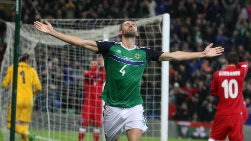Gareth McAuley was worried he had suffered a serious injury after losing feeling in his foot