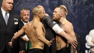 "Conor McGregor boasts a five-inch reach advantage over Eddie"" Alvarez"