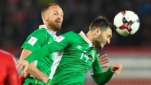 Wes Hoolahan starts in midfield for Ireland