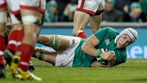 Ultan Dillane will miss the rest of the Six Nations for Ireland