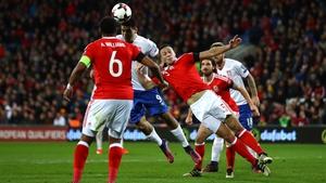 Alexander Mitrovic gets up to break Welsh hearts
