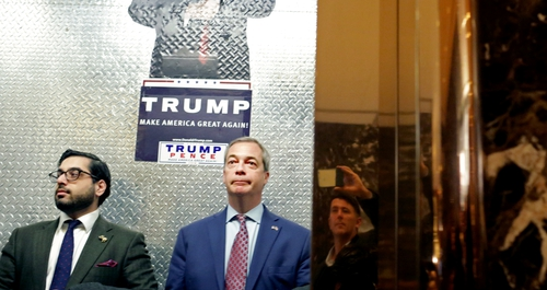 Nigel Farage, Donald Trump in 'incredibly productive' meeting