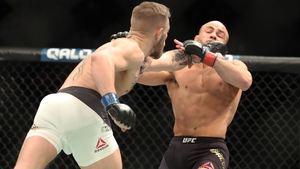 McGregor defeated Alvarez in the second round of their title fight in New York