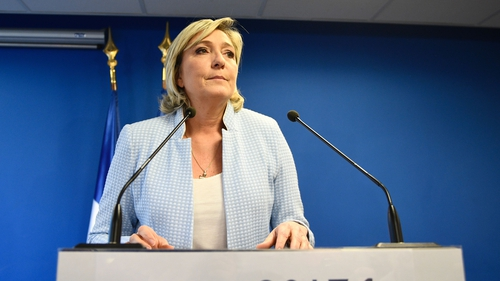 Marine Le Pen is likely to win the first round of French presidential elections next April