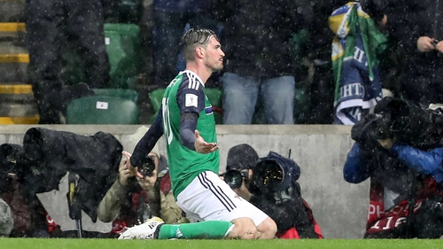 Kyle Lafferty: 'I haven't been playing much club football so therefore I'm not 100% fit'
