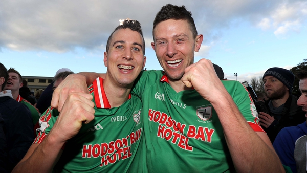 Darragh sheehy and Karol Mannion are heading to the Connacht final with St Brigids