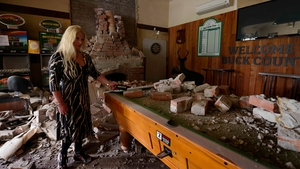 The Waiau Lodge Hotel, 120kms north of Christchurch in the aftermath of the quake