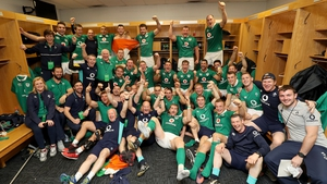Pollock spoke to the Ireland team before the historic win over New Zealand