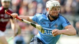 Liam Rushe in action for Dublin