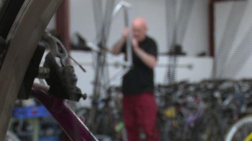 Inmates at Loughan House have been repairing unwanted bikes collected by Rotary Clubs