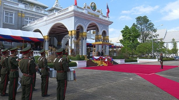 The visit is the first by an Irish Head of State to Laos