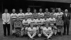 Brady (back row, far right) was part of the Millwall team that won the Fourth Division in 1962