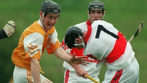 Colm McGurk in action for Derry in 1998