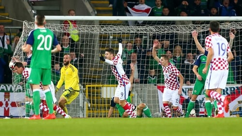 Northern Ireland lost at Windsor Park for the first time since 2013